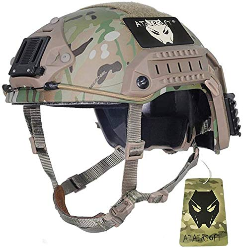 atairsoft ajustable marítima casco ABS...
