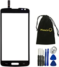 Mencia Replacement Touch Screen Digitizer Front Glass Screen For Black Lg Volt 4g LTE Ls740 with Tools(NO LCD)