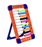 MICKYU Plastic Abacus Math Toy- Classic Educational Counting Toys for Kids with 100 Beads