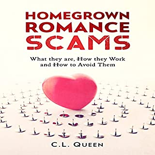 Homegrown Romance Scams audiobook cover art