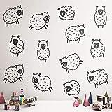 BailongXiao Pegatinas de ovejas de Dibujos Animados...