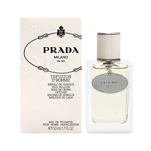 Prada Infusion D'Homme / men, Eau de Toilette, Vaporisateur / Spray 50 ml, 1er Pack (1 x 50 ml)