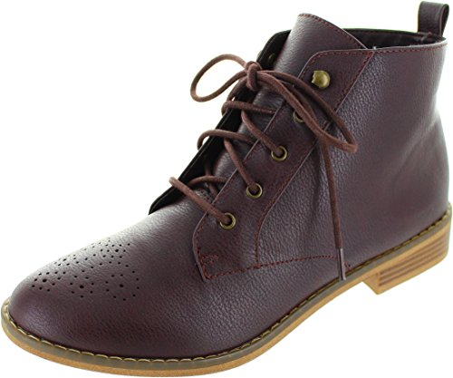 Rocket Dog Size 6 Women's Menosi Synthetic Leather Ankle Boots