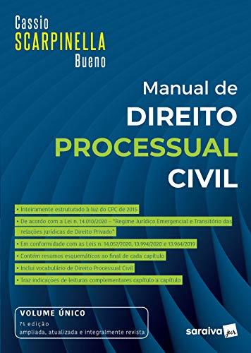 Manual De Direito Processual Civil - Vol. Único - 7ª Edição 2021