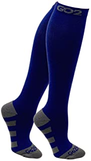 Go2Socks Compression Socks for Men Women Nurses Runners 20-30mmHg Medical Stocking Athletic
