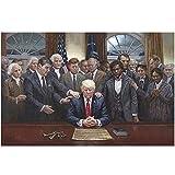 FGVB Historische Figuren für Donald Trump Poster