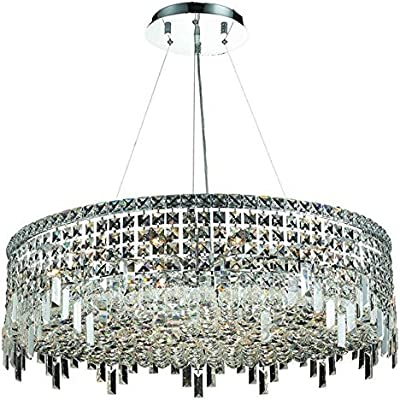 Amazon.com: Elegante iluminación 2031d32 C Maxim 18 Luz 32 ...