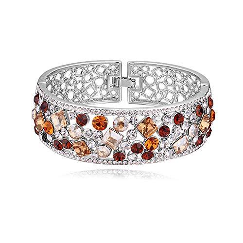 Armband Armbanden Link Armbanden Crystal Armband Goud Vergulde Overdreven Armband Women'S Fijne Sieraden@D