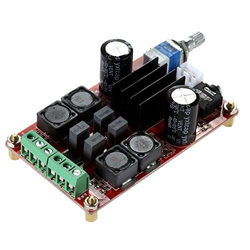 KKmoon TPA3116D2 2 x 50W DC12V 24V Dual Channel Digitale Verst?rker-Brett Leistungsverst?rkerplatine Klasse D Audio Stereo AMP¡
