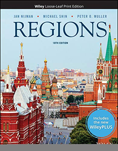 Compare Textbook Prices for Geography: Realms, Regions, and Concepts, 18e WileyPLUS Card with Loose-Leaf Set 18 Edition ISBN 9781119607410 by Nijman, Jan,Shin, Michael,Muller, Peter O.