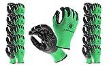Eldorado Work Gloves for Men, Nitrile Coated With Grip. Multipurpose Gloves for Gardening, Farm, Mechanic, Construction Warehouse