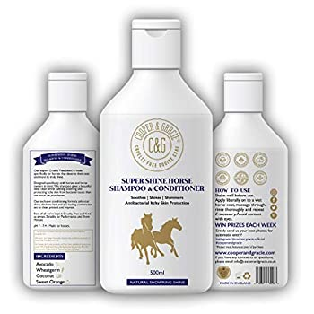 C&G Pets Horse Shampoo and Conditioner