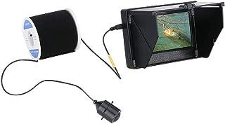 Fish Finders Buscador de Peces, Monitor de 4.3 Pulgadas para Pesca en Hielo Pesca en el mar, Lámpara LED infrarroja de 10W...