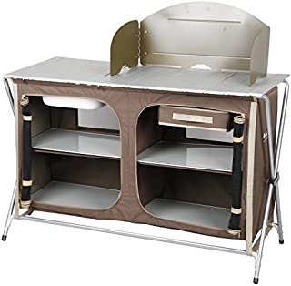Oztrail Camping Camp Kitchen Deluxe Sink Table Brand New