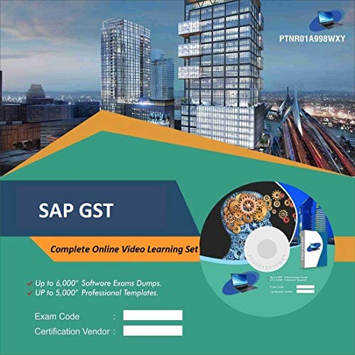 SAP GST Complete Video Learning Solution Set (DVD)