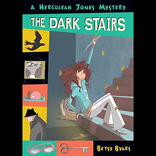 The Dark Stairs audiobook cover art