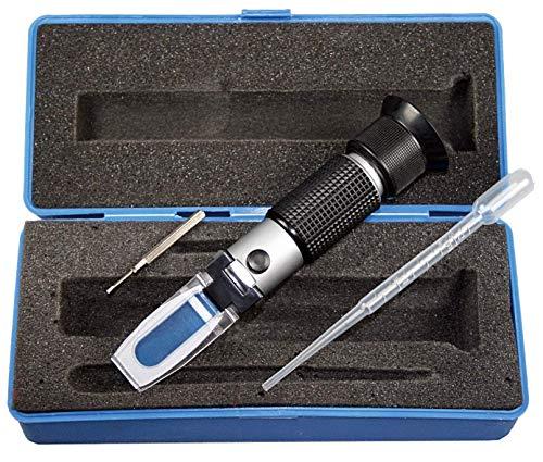 SW-Stahl 21550L Refraktometer I Kühlwasser I Scheibenwischwasser I Batteriesäredichte I Adblue