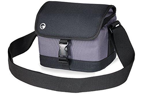 Praktica Bridge Kamera Tasche für Z35–Schwarz/Grau, PRA236