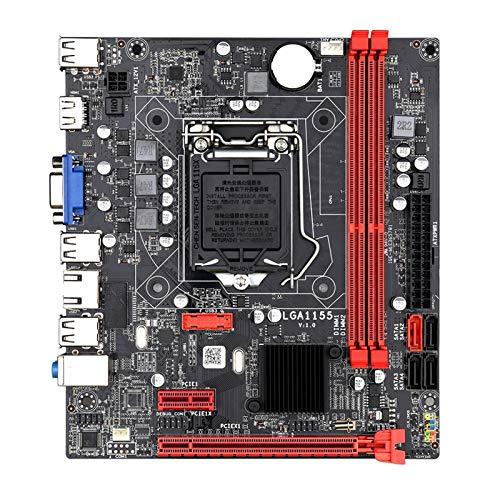 WTBHD B75M Motopular de Escritorio B75 LGA1155 para I3 I5 I7 CPU Support DDR3 Memory UP 16GB