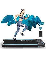 CITYSPORTS Loopband met motor 440 W, lcd-display en calorieënteller, bluetooth, voor thuis en kantoor, praktisch sporten
