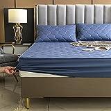 BOLO Protector de colchón de protección contra ácaros para girar, protector de colchón, 120 x 200 + 25 cm