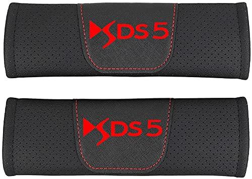 MEIDUN 2 PCS Coche Almohadillas Pinturón Cinturón Seguridad para Citroen DS5 DS...
