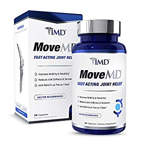 1MD MoveMD - Joint Relief Supplement - Doctor Recommended   with Collagen, Astaxanthin, and More   30 Capsules