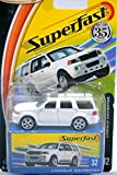 Matchbox Lincoln Navigator 35th Anniversary 2004 Superfast Series White Lincoln Navigator 1:64 Scale Collectible Die Cast Metal Toy Car Model #32