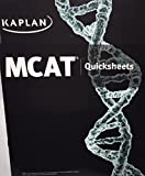 Kaplan MCAT Quicksheets - New Edition for 2016 Test - MM5104E