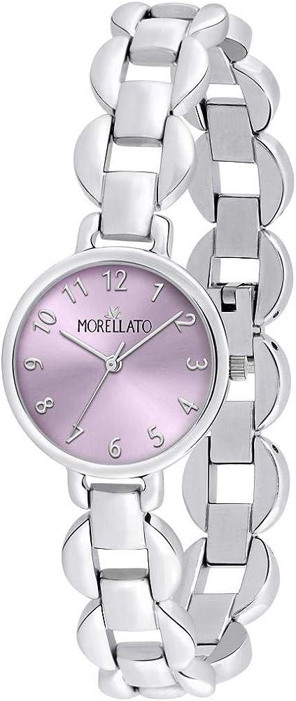 Morellato, orologio analogico al quarzo per donna,  in acciaio inossidabile R0153156504