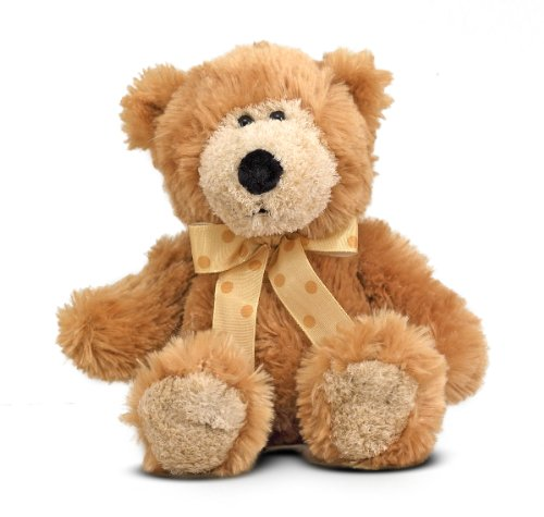 Melissa & Doug Baby Ferguson Teddy Bear Stuffed Animal Plush Toy (Great Gift for Girls and Boys - Best for Babies and Toddlers, All Ages)