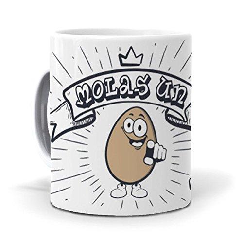 mundohuevo Taza Molas un Huevo Version