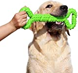 Durable Dog Chew Toys 13 Inch Bone Shape Extra Large Dog Toys with Convex Design Strong Tug Toy for Aggressive Chewers Medium and Large Dogs Tooth Cleaning