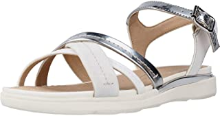 Geox Hiver A, Sandales Bout Ouvert Femme
