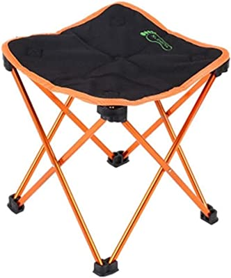 Amazon.com: Zichen Silla plegable mediana, portátil, silla ...