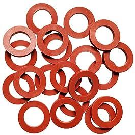 TTSAM Rondelles universelles en caoutchouc pour tuyau d'arrosage, compatibles avec tous les joints de tuyau d'arrosage…