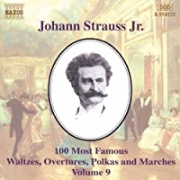 J Strauss: 100 Most Famous Works, Vol.9 (2001-10-15)