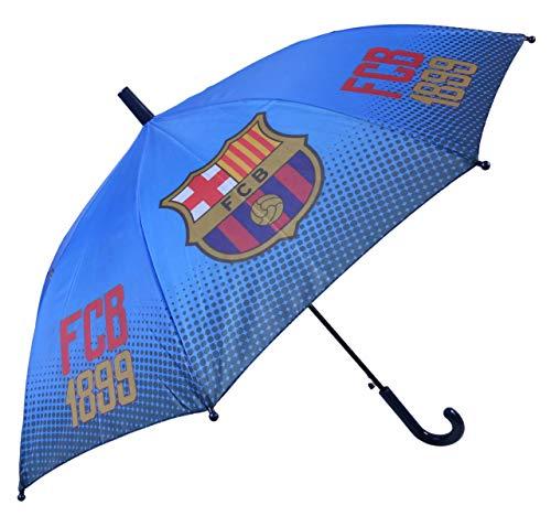 Blauwe paraplu voor Kids FC Barcelona