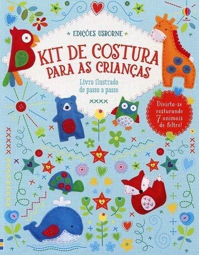 Kit de costura para as crianças