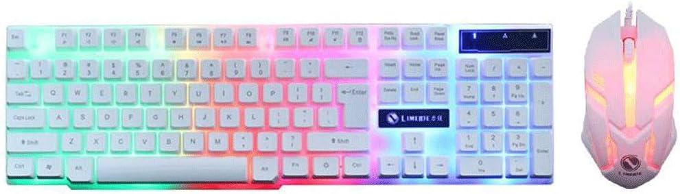 KINGXX-01 Pack de Teclado y ratón inalámbricos Teclado TX30 ...