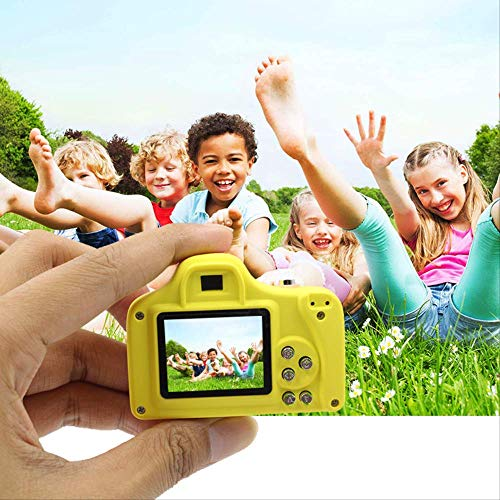 Cámara digital única para niños, juguetes ligeros y divertidos de la ilustración, deje que a los niños sabios les guste, carcasa de Pc respetuosa con el medio ambiente, en línea con las normas ambient