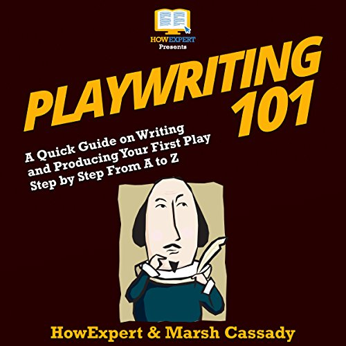 Playwriting 101 audiobook cover art
