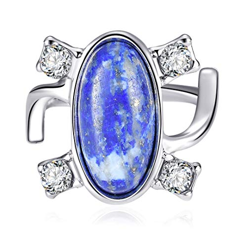 WWM & Dell' annata Vampire Diaries Elena pietra naturale del dito di anelli, colore: 9-multicolor, cod. 1508910451893