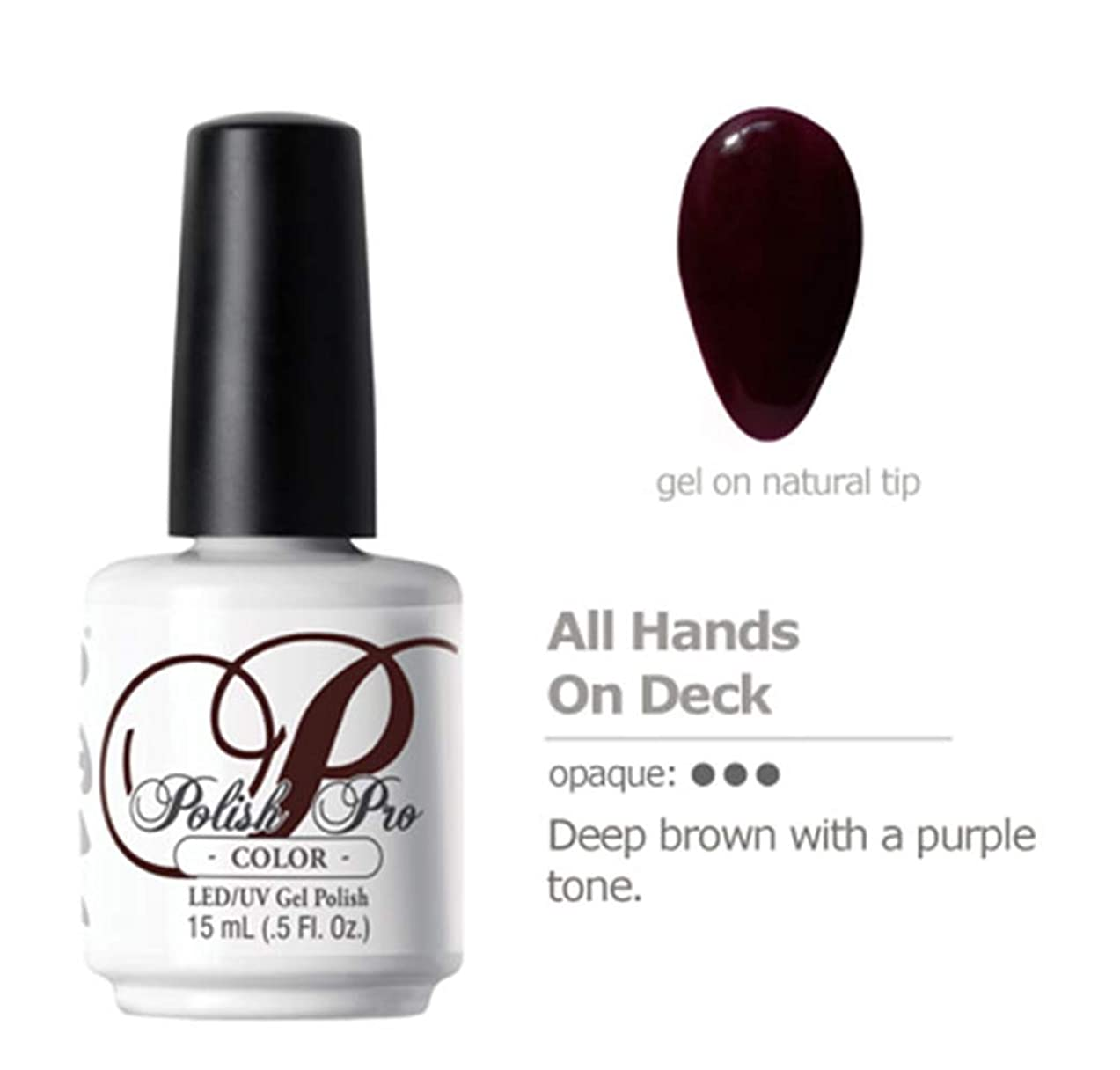 料理マサッチョのホストNSI Polish Pro Gel Polish - All Hands on Deck - 0.5oz / 15ml