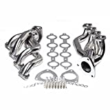 Stainless Headers Fit For Chevy GMC Avalanche Silverado Sierra Tahoe 00-06 4.8L 5.3L V8