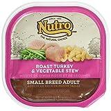 Nutro Natural Choice de raza pequeña de pavo y verduras – perro adulto (24 x 3,5 oz)