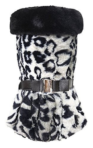 Puppy Angel Glamours Tiger Manteau pour Chien Gris Taille S