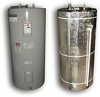 Nasa Tech Heavy Duty Reflective Foam Core Non Fiberglass 40 Gallon Water Heater Tank Insulation Wrap by AES
