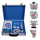 Fencia ED Shockwave Therapy Machine,Deep Tissue Percussion Body Relax Muscle Pain Relief Massager - Shipping from US (Blue)