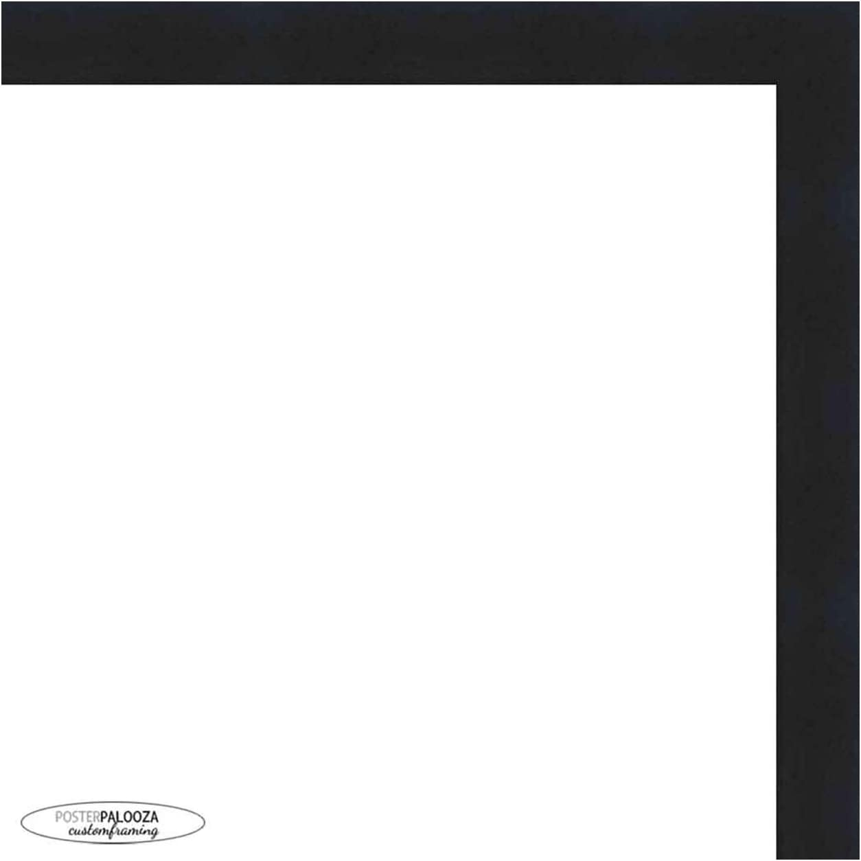 Poster Palooza 28x40 Contemporary Black Frame UV Picture - Wood SEAL limited Raleigh Mall product